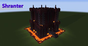 Nether Tower Castle #1 - Shranter Minecraft Map & Project