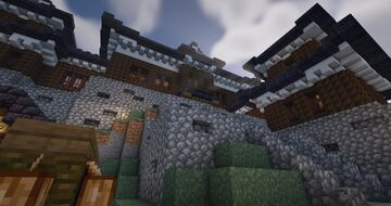 Small Japanese Castle (WIP) Minecraft Map & Project