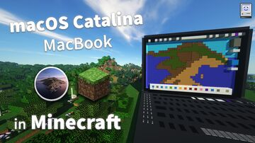 eXPerience4 - Working MacBook Pro in Minecraft! Minecraft Map & Project