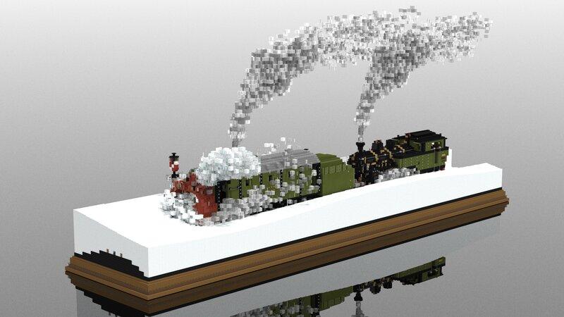 Snow on the Furka railway   5:1 Diorama
