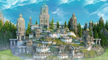 The Lost Gardens Minecraft Map & Project