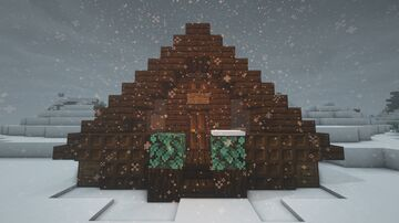 Cozy Cabin Minecraft Map & Project