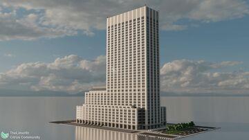 399 Park Avenue | New Limesville City | NL | UCS Minecraft Map & Project