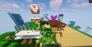 BlockzSMP Map ! By AwesumScarMC & Gunbuddy7 Minecraft Map & Project