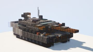 Leopard 2 Revolution - 1.5:1 scale Minecraft Map & Project