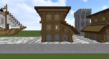 Medieval Housse Minecraft Map & Project