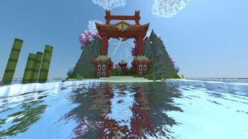 [FREE] Asian Hub 1 hour by Lekilo_Maitre Minecraft Map & Project