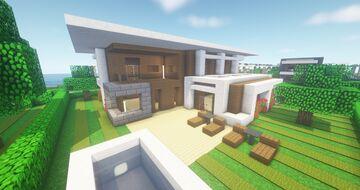 Modern NLC Cubus House #11 - NewLycantropiaCity build by ArcturusPhoenix Minecraft Map & Project