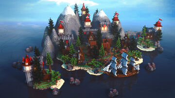 Spawn   Red Castle Minecraft Map & Project