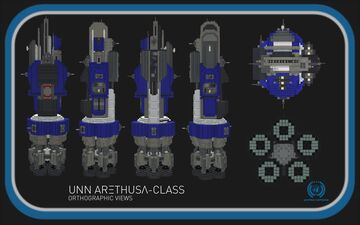 Arethusa-Class Light Cruiser || The Expanse Full Interior (1:1) Build Minecraft Map & Project