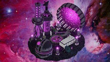Sci-Fi Hub Minecraft Map & Project