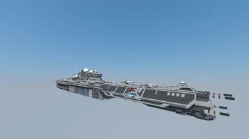 Spaceship Orion (SIC 8) Heavy Cruiser Minecraft Map & Project