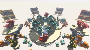 Bed Wars map - Atlantis (HyMagic) Minecraft Map & Project