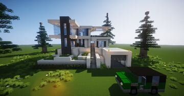 Small Modern House #6 (map download) 🏡 Minecraft Map & Project