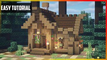 ⚒️ Minecraft: Fletcher's House   Easy Tutorial Minecraft Map & Project