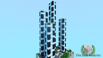 TheReawakens - Bayview City Project - Icon Towers Minecraft Map & Project