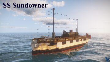 SS Sundowner (1929)   Full Interior   Download Minecraft Map & Project