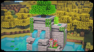 Cool Fountain Design Minecraft Map & Project