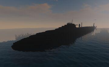 Odysseus class (fast attack sub) Minecraft Map & Project