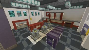 """Recreation of the map """"ctf_turbine"""" from Team Fortress 2 - [1.16 +] Minecraft Map & Project"""