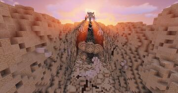 """""""Fossilized"""" - Elytra Map Minecraft Map & Project"""