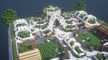 Central Park ZOO Minecraft Map & Project