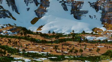 Snowdrift Custom Terrain Minecraft Map & Project