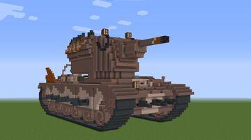 "KV-2 ""Smasher"" Minecraft Map & Project"