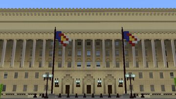 DEPARTMENT OF COMMERCE BUILDING MCPE MAP Minecraft Map & Project