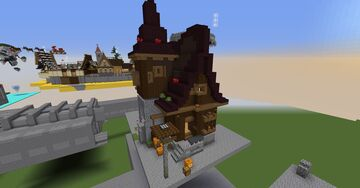 alley of the lurking shadows house number 1 Minecraft Map & Project