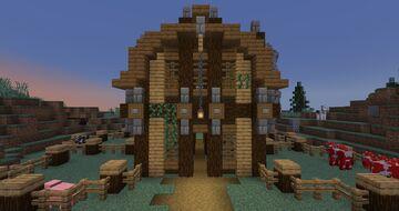 Barn Minecraft Map & Project