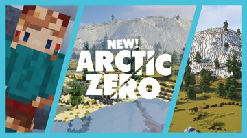 Arctic Zero [Download] - A special and complex multiplayer survival terrain with custom caves, trees and more! Minecraft Map & Project