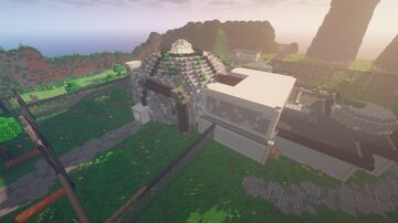 Capture the (zombie riddled scientist infested nuclear power) Plant Minecraft Map & Project