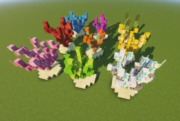 Coral pack Minecraft Map & Project