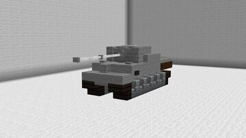1:1 Panther German Medium Tank Minecraft Map & Project