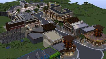 Jurassic World Lagoon Minecraft Map & Project