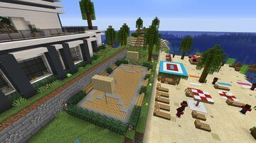 Tropical Island Party Minecraft Map & Project
