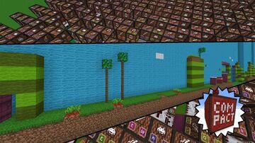 Super mario bros 2 - Overworld theme Minecraft Map & Project