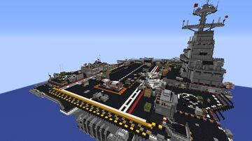 Call of Duty: Black ops 2 Carrier Minecraft Map & Project