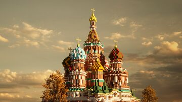 Moscow 1 to 1 scale - Москва в масштабе 1 к 1 (TeamCIS | СНГ - Build the Earth) Minecraft Map & Project