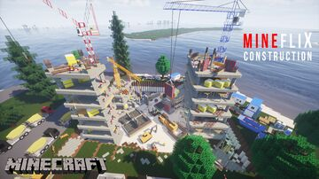 RESIDENTIAL CONSTRUCTION SITE MAP Minecraft Map & Project