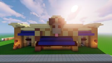 Peculiar Pizza Palace Minecraft Map & Project