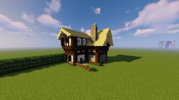 Cottage design for my friend Minecraft Map & Project
