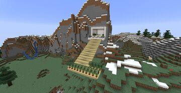 Mountain restaurant Minecraft Map & Project