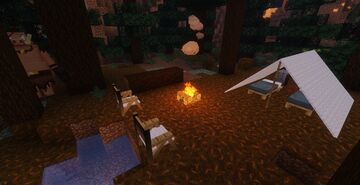 MINECRAFT HORROR STORY EP2 - STRANGE FOREST Minecraft Map & Project