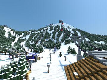 Diamond Peaks Ski Resort-Demo Release 2 Minecraft Map & Project