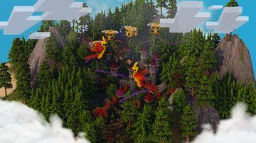 Village-Castle Hub Minecraft Map & Project