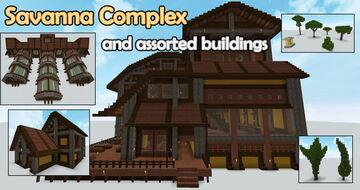 Savanna Complex Minecraft Map & Project