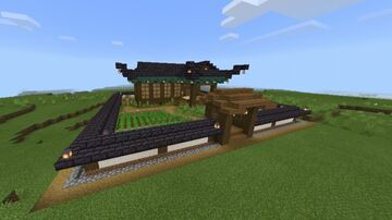 Starter survival (Japanese house) Minecraft Map & Project