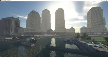 World Financial Center Minecraft (1:1 Scale) Minecraft Map & Project